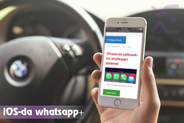iPhone-da jailbreak-siz whatsapp+ işlətmək OIHA001 610x407